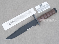 Ontario USMC OKC-3S Display Presentation Bayonet NO Scabbard Stamped Ricasso  - NEW - USA Made (27306)