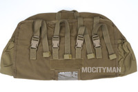 London Bridge LBT-6130A Coyote Brown MOLLE Stuff Sack Pouch for MSS Sleeping Bag FILBE Ruck - New