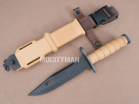 Lan-Cay M9 Bayonet with Scabbard - Commercial 2004 Model - USA Made (24200)