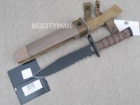 Ontario USMC OKC-3S Bayonet with Scabbard Genuine - Commercial Model - USA Made (27316)