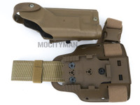Safariland 6004SS Holster and Shroud For Colt USMC MARSOC M45A1 CQCP Pistol With X200 Light - Right Hand -  USA Made (27555)