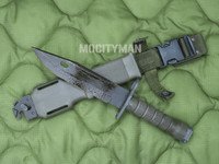Lan-Cay M9 Bayonet with Scabbard -1999 Model  - Genuine Military - USA Made (28158)