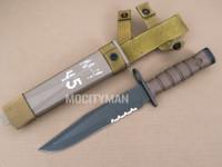 Ontario USMC OKC-3S Bayonet with Scabbard - Genuine Military - USA Made (28927)