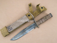 Ontario USMC OKC-3S Bayonet with Scabbard - Genuine Military - USA Made (28956)