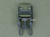 Bianchi Green Belt Clip for the M9 Bayonet - Blemished - USA Made (29583)
