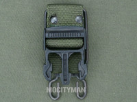 Bianchi Green Belt Clip for the M9 Bayonet - Blemished - USA Made (29586)