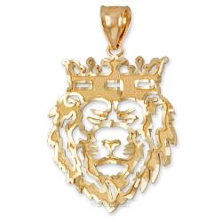 Gold Lion King DC Pendant (S/L)