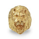 Solid Gold Lion Ring.