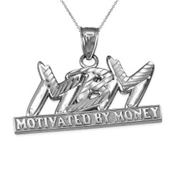 White gold MBM Hiphop necklace