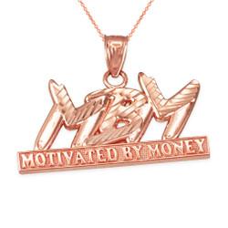 Rose gold MBM Hiphop necklace