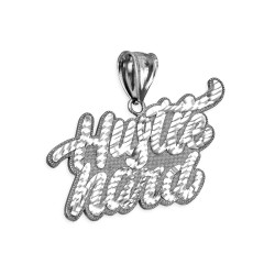 Silver Hip-hop pendant