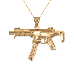 Gold SMG Necklace
