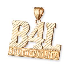 B4L Gold Pendant