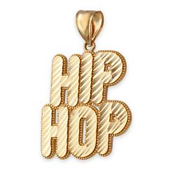 Gold Hip Hop Pendant