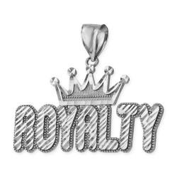 Sterling Silver ROYALTY Hip-Hop DC Pendant