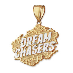 DREAM CHASERS Gold Pendant