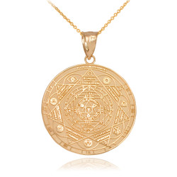 Gold Chakra Necklace