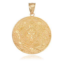 Gold Chakra Pendant