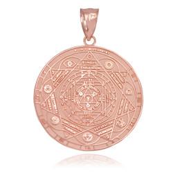 Rose Gold Chakra Pendant