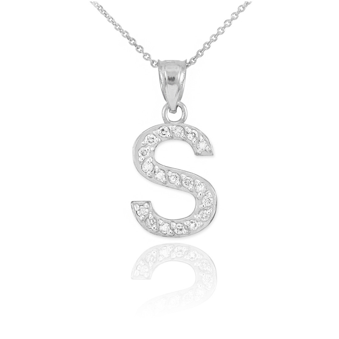 ef51bad50ab6a ... Sterling Silver Letter