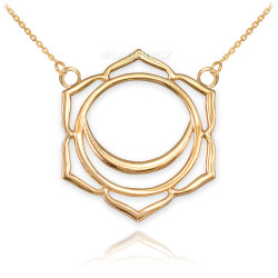 14K Gold Svadhishthana Chakra Yoga Necklace