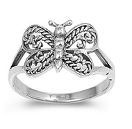 Butterfly Dharma Petite Rings Sterling Silver 925