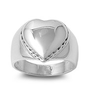 Heart Ring Sterling Silver 925