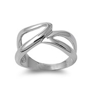 Designer Style Art Ring Sterling Silver 925