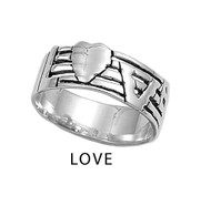 Love Ring Sterling Silver 925