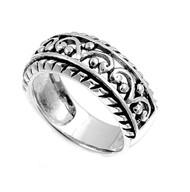 Filigree Ring Sterling Silver 925