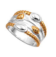 Twod Designer Style Ring Sterling Silver 925