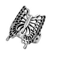 Jennifer's Butterfly Ring Sterling Silver 925