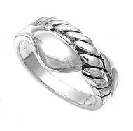 Sleeping Snake Ring Sterling Silver 925