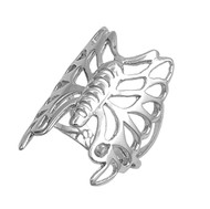 Elysian Butterfly Fashion Ring Sterling Silver 925