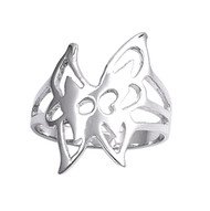 Butterfly Elegance Fashion Ring Sterling Silver 925