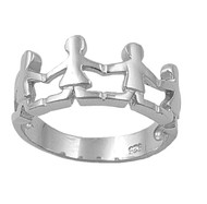 Hope of our Nation Ring Sterling Silver 925