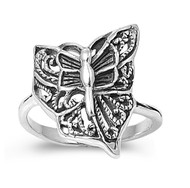 Butterfly of a Distant Day Ring Sterling Silver 925
