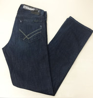 William Rast Straight Leg Dark Blue Jeans 32X35