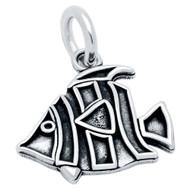 Sterling Silver Designer Fish Charm