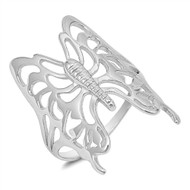 Butterfly Design Sterling Silver 925 Ring