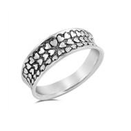 Little Hearts Designer Ring Sterling Silver 925