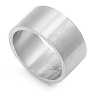 Plain 12MM Band Ring Stainless Steel