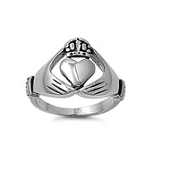 Traditional Claddagh Ring Stainless Steel