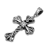 Gothic Cross Pendant Stainles Steel 36MM