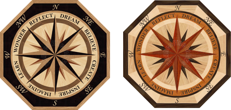 The Hardwood Floor Medallion Store Home Page
