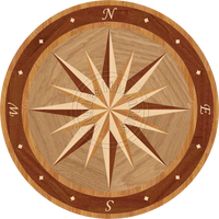 Sailors Wheel II - 48""