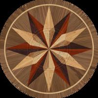"Sand Compass Dark 36"""