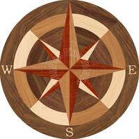 """Sea Compass North 48"""""""
