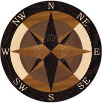 """Sea Compass North Full Nautica 24"""""""