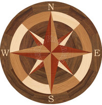 """Sea Compass North with N 24"""""""
